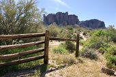 Superstition Mountains Setting