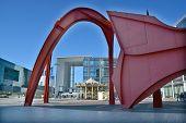 The Grande Arche in the La Defence