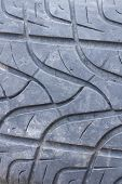 Detail Of A Car Tyre