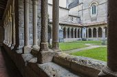 Patio Of Monastery In Saint-emilion