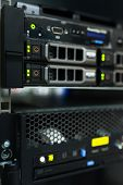 Backbone servers in data center room
