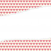 Vector Open Paper Hearts