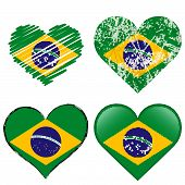 Collection - Brasil - Four Different Hearts