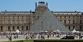 Paris - Square Of Louvre