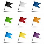 Collection Of Marking Accessories - Marking Flags