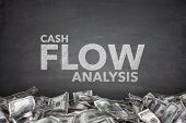 Cash flow analysis on blackboard