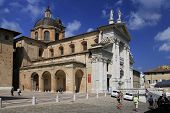 Urbino, Italy, September 2014. The City Cathedral