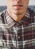 Plaid Shirt Detail