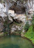Covadonga Chapel In Asturias, Spain.