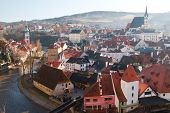 picture of world-famous  - Cesky Krumlov  - JPG