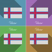 picture of faroe islands  - Flags of Faroe Islands - JPG