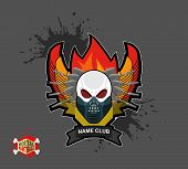 picture of paintball  - Paintball logo - JPG