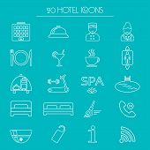 picture of elevator icon  - Icons of hotel service - JPG