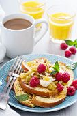 picture of french-toast  - French toasts with cinnamon - JPG