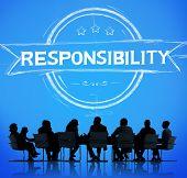 pic of trustworthiness  - Responsibility Reliability Trust Liability Trustworthy Concept - JPG