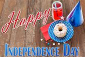 picture of mason  - happy american independence day - JPG