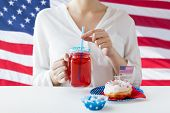 stock photo of independent woman  - independence day - JPG