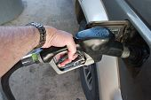 Hand-Pumpen Gas Fuel in auto