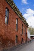 Virginia City Nevada Brick Building