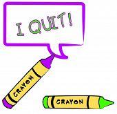 Dejar de fumar en el bocadillo de diálogo de mensaje