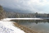 Landscape Snow Lake Indian Boundary
