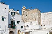 Panoramic view of Locorotondo. Apulia.
