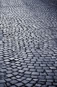 Blue Cobblestone Way