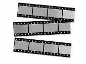 three film strips