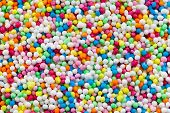 colorful sugar sprinkles