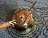 Turkish coffee-pot