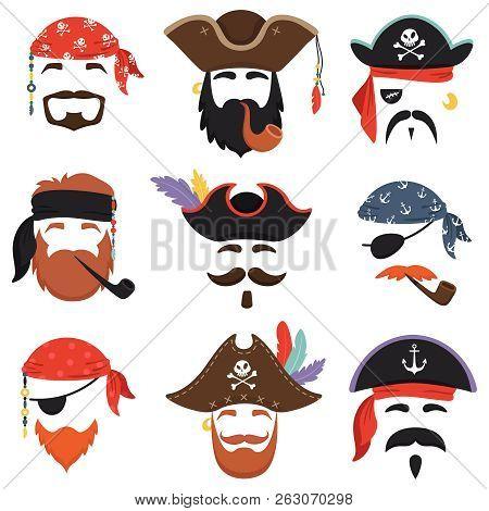 Carnival Pirate Mask Funny Sea