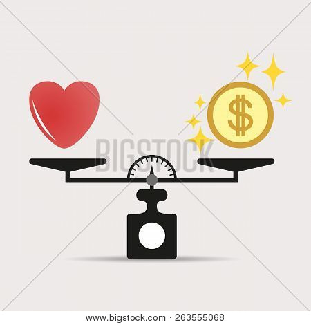 Heart And Money For Scales