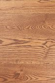Smooth Brown Wood With Natural Patterns. Smooth Wooden Board Texture. Natural Hardwood Flooring. poster
