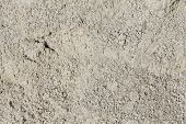 Close Up Of Beach White Sand Background Or Texture. Sand Background With Shallow Depth Of Field poster