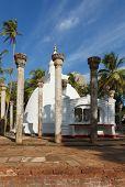 Ambasthale dagoba - buddhist stupa. Mihintale, Sri Lanka