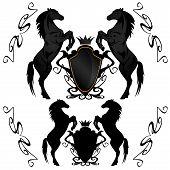 equestrian heraldry