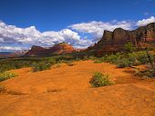 Some of the red rock of Sedona Arizona