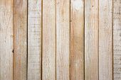 Old Wood Texture And Background In Vintage Tone. Plank Light Brown Wooden Wall Background. poster