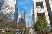 Tokyo Metropolitan Government & Shinjuku Business Landmark Buildings poster
