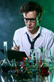 The writing chemist