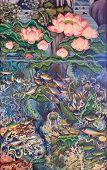 Постер, плакат: Тайский живопись искусство