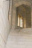 Stairway of Medieval Castle