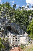 Predjama Castle In The Rock