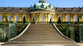 The Sanssouci palace in Potsdam, Germany.