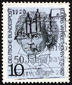 Postage stamp Germany 1970 Ludwig van Beethoven