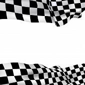 Background Checkered Flag
