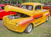 1948 Yellow Ford Pickup