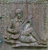 Beautiful Carved Gravestone