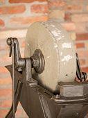Vintage Grinding Wheel