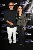 LOS ANGELES - AUG 15: Emilio Estefan, Gloria Estefan at the CW